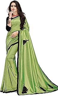 Gaurangi Creation Women's Silk Saree with unstitched blouse piece