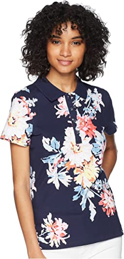 Pippa Printed Polo Shirt