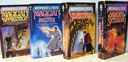 The Riftwar Saga: Magician: Apprentice, Magician: Master, Silverthorn, & Darkness at Sethanon