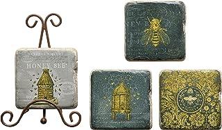 honey bee coasters
