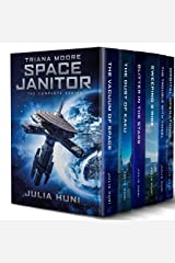 Triana Moore, Space Janitor: The Complete Humorous Sci Fi Mystery Series Kindle Edition