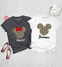 Animal Kingdom Shirt, Leopard Print Minnie Shirts, Family Matching Tee, Mickey Ears T-Shirt, Cheetah Graphic Tank Top