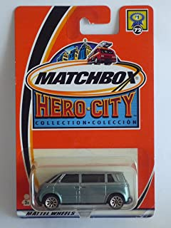 Matchbox Hero City Collection Volkswagen Microbus 1:64 Scale Die-cast Vehicle