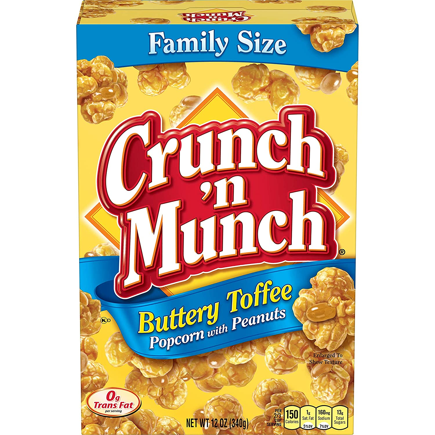 Crunch 'n Munch Buttery Toffee Popcorn Direct sale Our shop OFFers the best service of manufacturer Peanuts with Oz. Pac 12