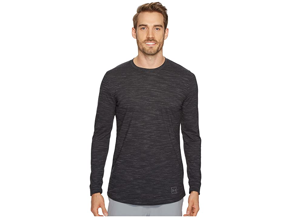 Under Armour Sportstyle Long Sleeve Tee (Black/Graphite) Men