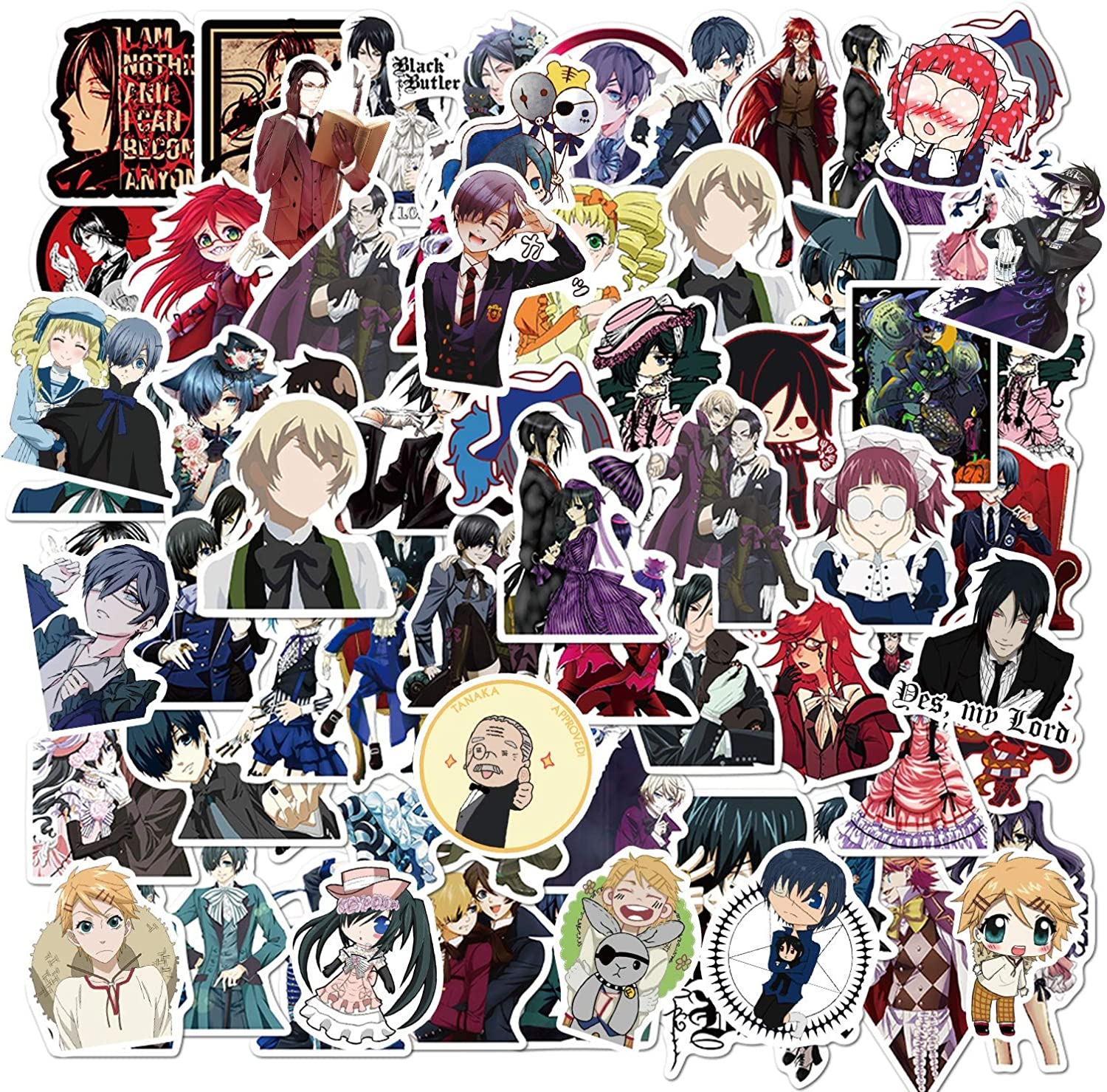 Anime Stickers 100PCS Waterproof for Cool Free shipping New Vinyl Laptop Ranking TOP19