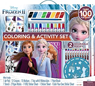 Disney Frozen 2 Giant Activity Art Collection with Paper Masks and Paints AS46551
