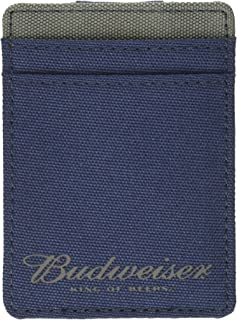 Budweiser by Buxton Men's Imprint Front Pocket Bill Holder
