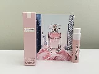 ELIE SAAB Le Parfum Rose Couture Eau de Toilette, Deluxe Travel Size, 0.03 oz