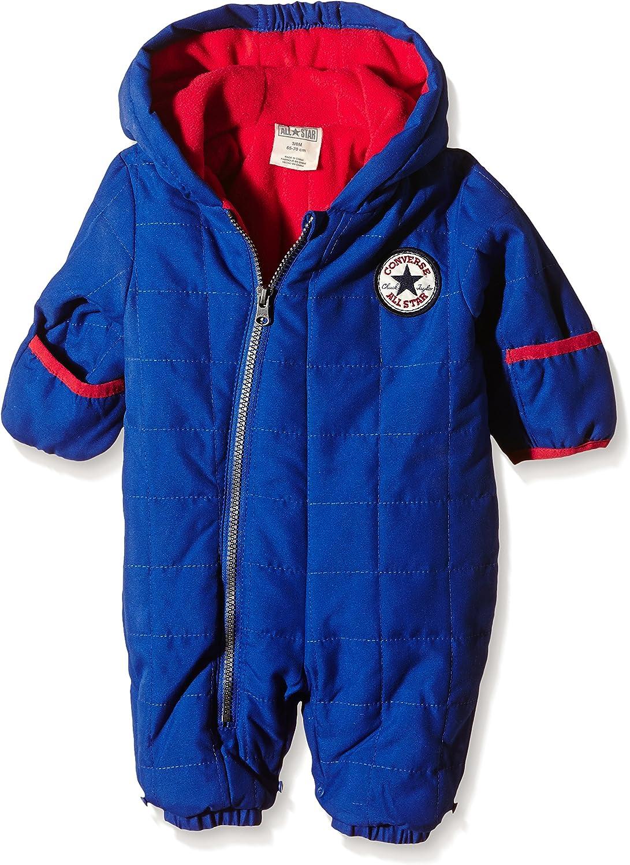 Converse Baby Boys 0-24m Snowsuit, Blue, 6-9 Months : Amazon.co.uk ...