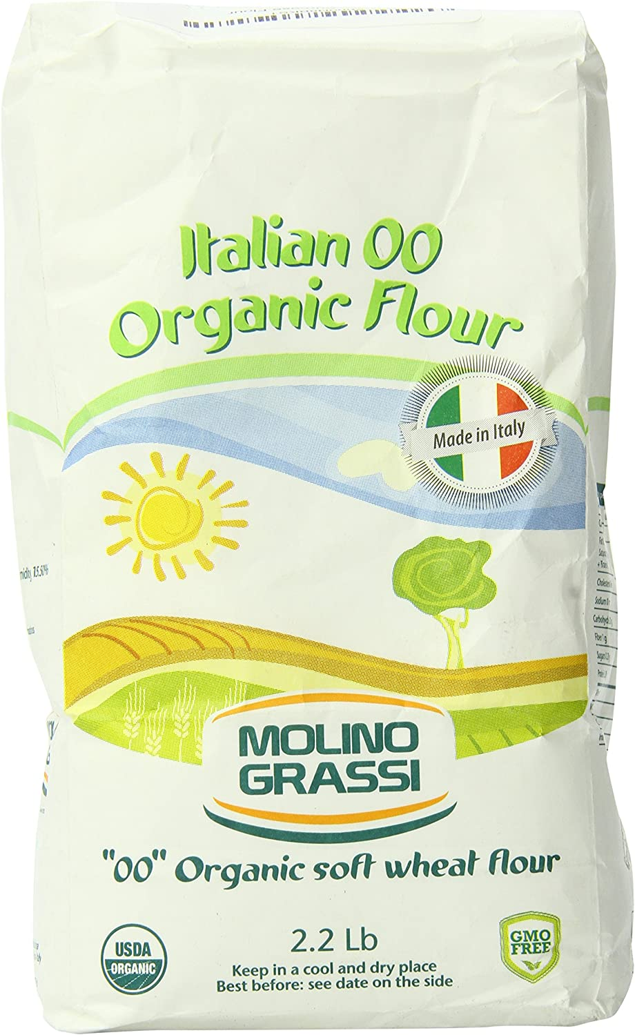 Molino Grassi White Package with Green