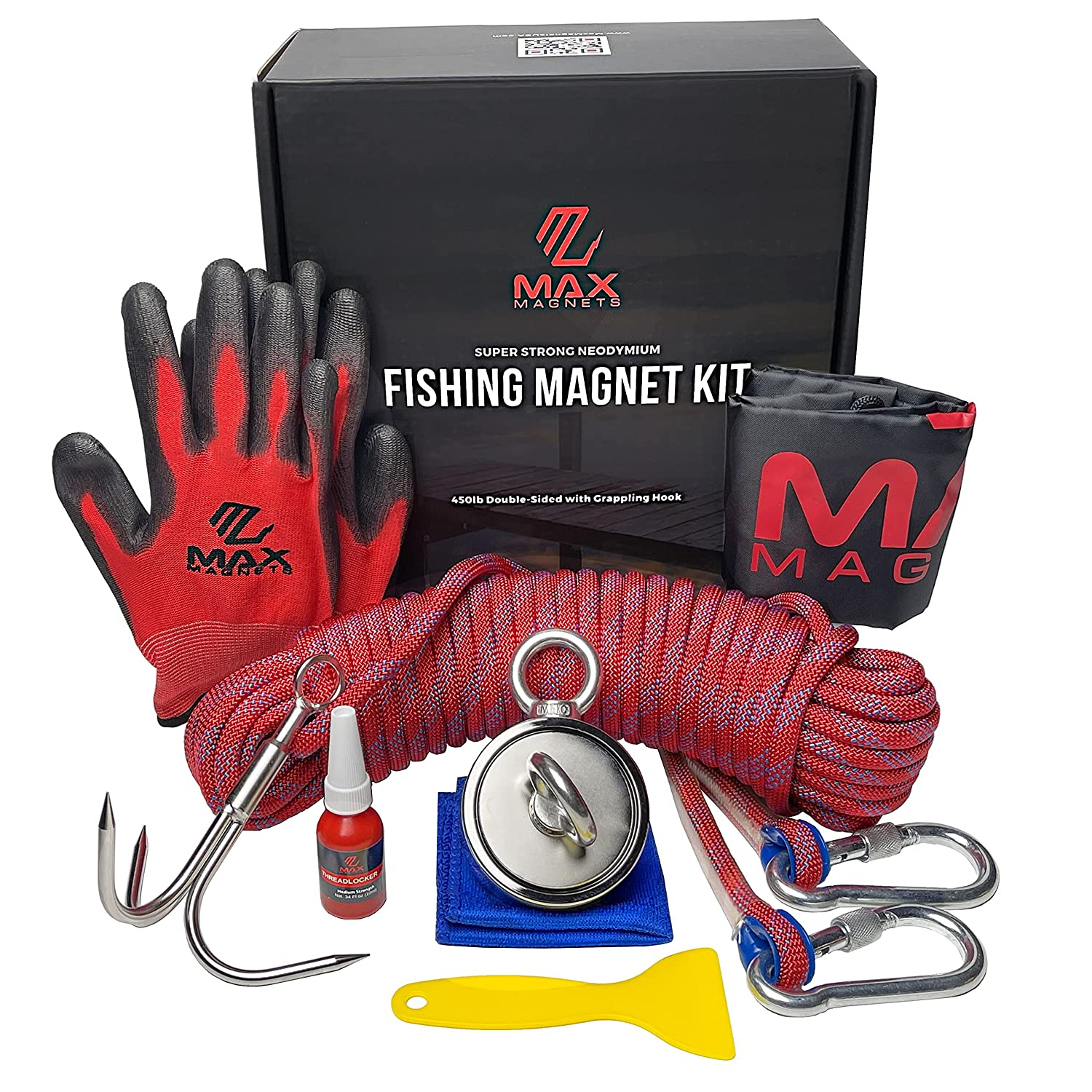 Magnet Fishing Kit - Double Al sold out. Sided 900 1000 to Pull Sales of SALE items from new works LB up Combin
