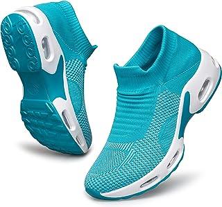 Women's Running Shoes - Walking Shoes Air Cushion Sock...