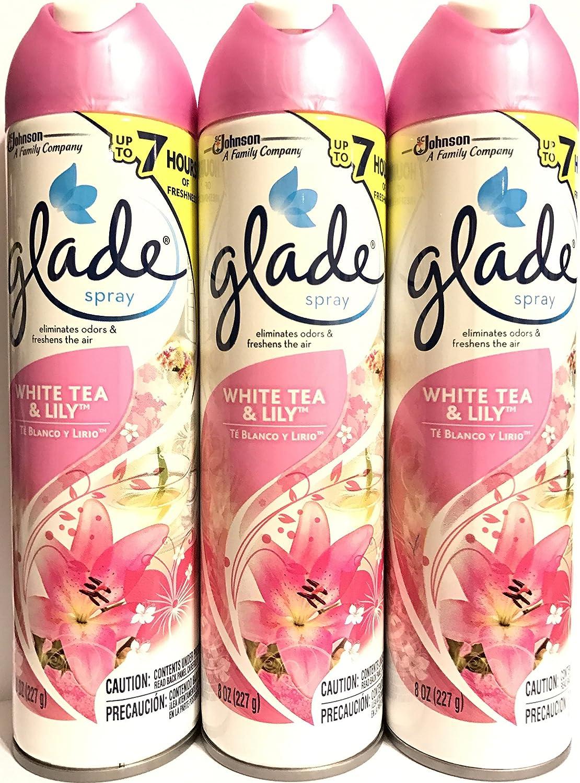 Glade Air Freshener Spray - White Tea OZ 8 Net Wt. Ranking TOP8 227 Ranking TOP2 Lily