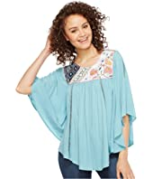 Double D Ranchwear - Porcelain Pagoda Top