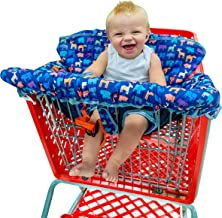 Busy Bambino 2-in-1 Shopping Cart Cover | High Chair Cover for Baby | Now in a Beautiful Animal Print!