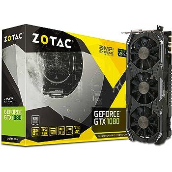 ZOTAC ZT-P10800B-10P - Tarjeta Gráfica (GeForce GTX 1080 AMP 8GB ...