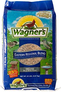 Wagner's 62004 Eastern Regional Blend Wild Bird Food, 20-Pound Bag