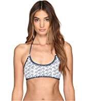 Dolce Vita - Cloud Nine Halter Bra Top with Whipstitch