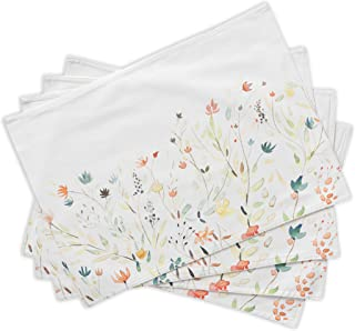 Maison d' Hermine Colmar 100% Cotton Set of 4 Placemats 13 Inch by 19 Inch