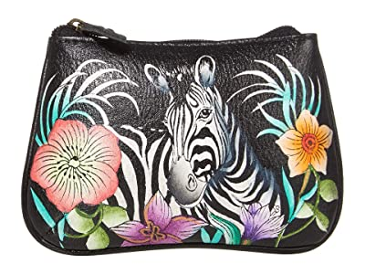Anuschka Handbags 1107 Medium Coin Purse (Playful Zebras) Coin Purse