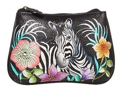 Anuschka Handbags Medium Coin Purse 1107 (Playful Zebras) Coin Purse