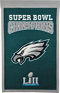 NFL Philadelphia Eagles Super Bowl 52 Champions Banner