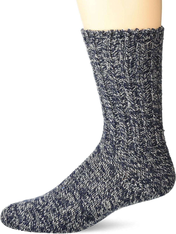 Woolrich unisex-adult Merino Solid Ragg Wool Sock