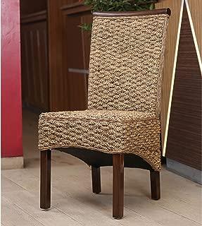 International Caravan Furniture Piece Bunga Hyacinth Dining Chair (Set of 2)