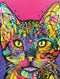 Dean Russo Shiva Cat Journal: Lined Journal (Quiet Fox Designs) 144 High-Quality, Acid-Free Lined Pages for a Dream Diary or Journaling, with Vibrant Cover Art from Brooklyn Pop Artist Dean Russo