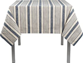 Now Designs Tablecloth, 60 by 108-Inch, Veranda Stripe Peacoat
