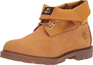Men's Basic Single Roll Top Ankle Boot