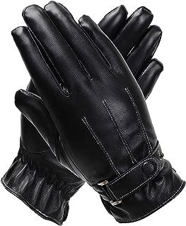 dents ladies black leather gloves