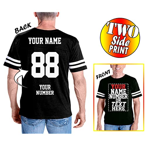 3240844a5 Custom Cotton Jerseys - Make Your OWN Jersey T Shirts - Personalized Team  Uniforms for Casual