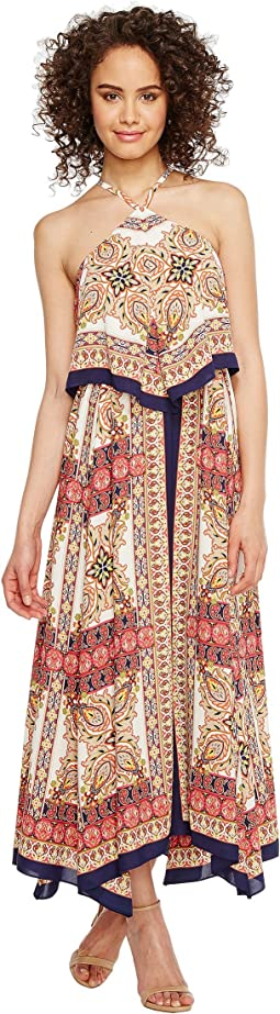 Printed Layered Dress