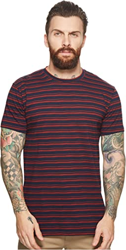 Ben Sherman - Distorted Stripe Crew T-Shirt