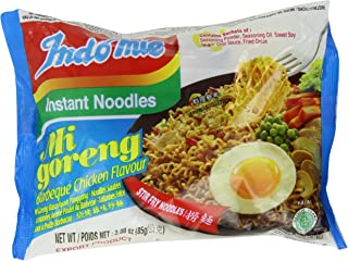 Indomie Mie Goreng Bbq Chicken, 3-Ounce (Pack of 30)