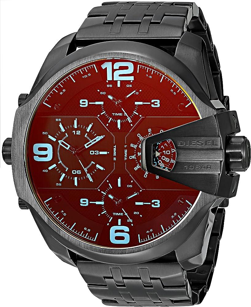 Diesel orologio cronografo da uomo in acciaio inossidabile DZ7373