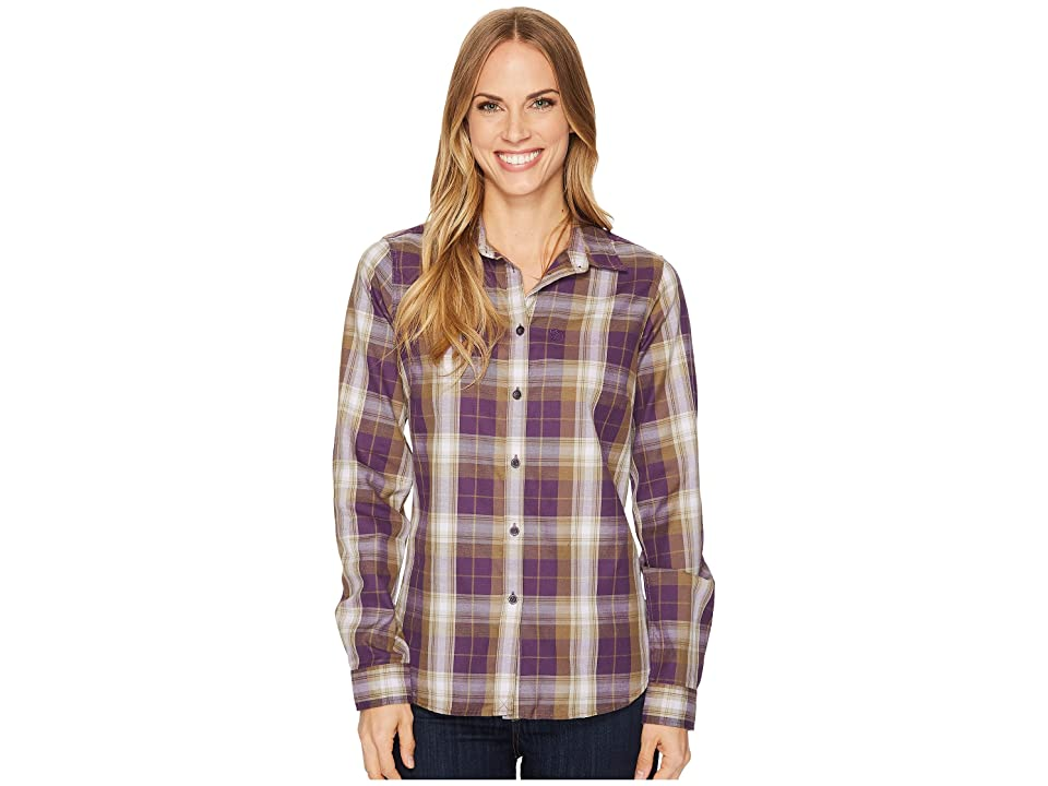 Fjallraven Ovik Flannel Shirt (Alpine Purple) Women