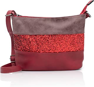 73656b1bf9 Gallantry -Sac bandoulière / sac porté épaule / sac paillettes femme / Sac  Strass (