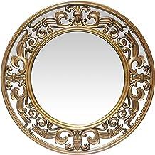مرآة حائط ذهبي مصقول 23.5 بوصة من إنفينيتي إنسترومينتس فيكتوريا