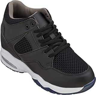 CALTO Men's Synthetic/Mesh 3.2 Inches Sneakers