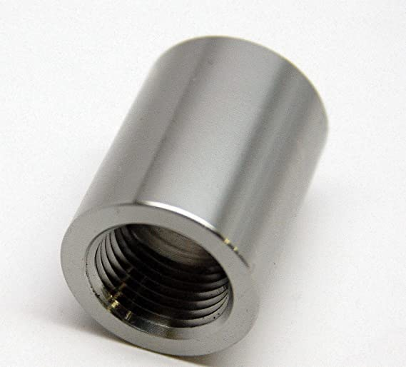 "18NPT Aluminum Weld Bung 1/"" OD Vibrant 11172 Female 3//8/"""