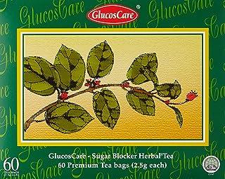 GlucosCareSB Tea, 60 satchet, Green tea, Green Tea, Green, 8 kilograms (Pack of 60)