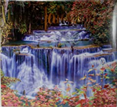 2018 Waterfalls Color Monthly Wall Calendar, 12 x 22 Inches