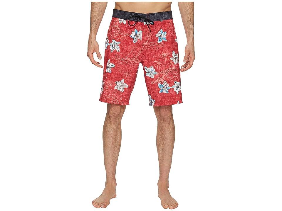 Vans Hawaii Floral Boardshorts (Chili Pepper) Men