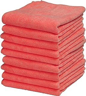 Superio Micro Fiber Cloth, 277Bulk-R, Red, 12X12 inch