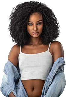 Sensationnel Curls Kinks & CO KINKY 4B-4C Instant Weave Half Wig - IW GAME CHANGER (1 [Jet Black])