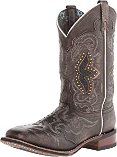 womens wide calf square toe cowboy boots