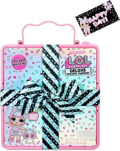 LOL Surprise Poupée Miss Partay et animal de compagnie - avec des modèles, Fizzy Surprises & Accessoires - Deluxe Pre...